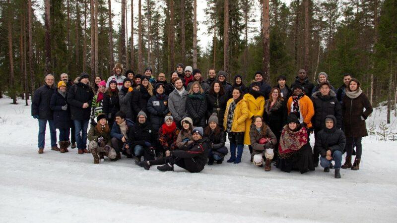 Groepsfoto Finland