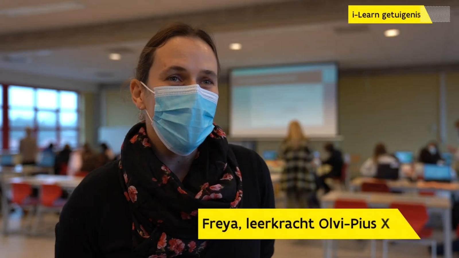 Getuigenis leerkracht Freya