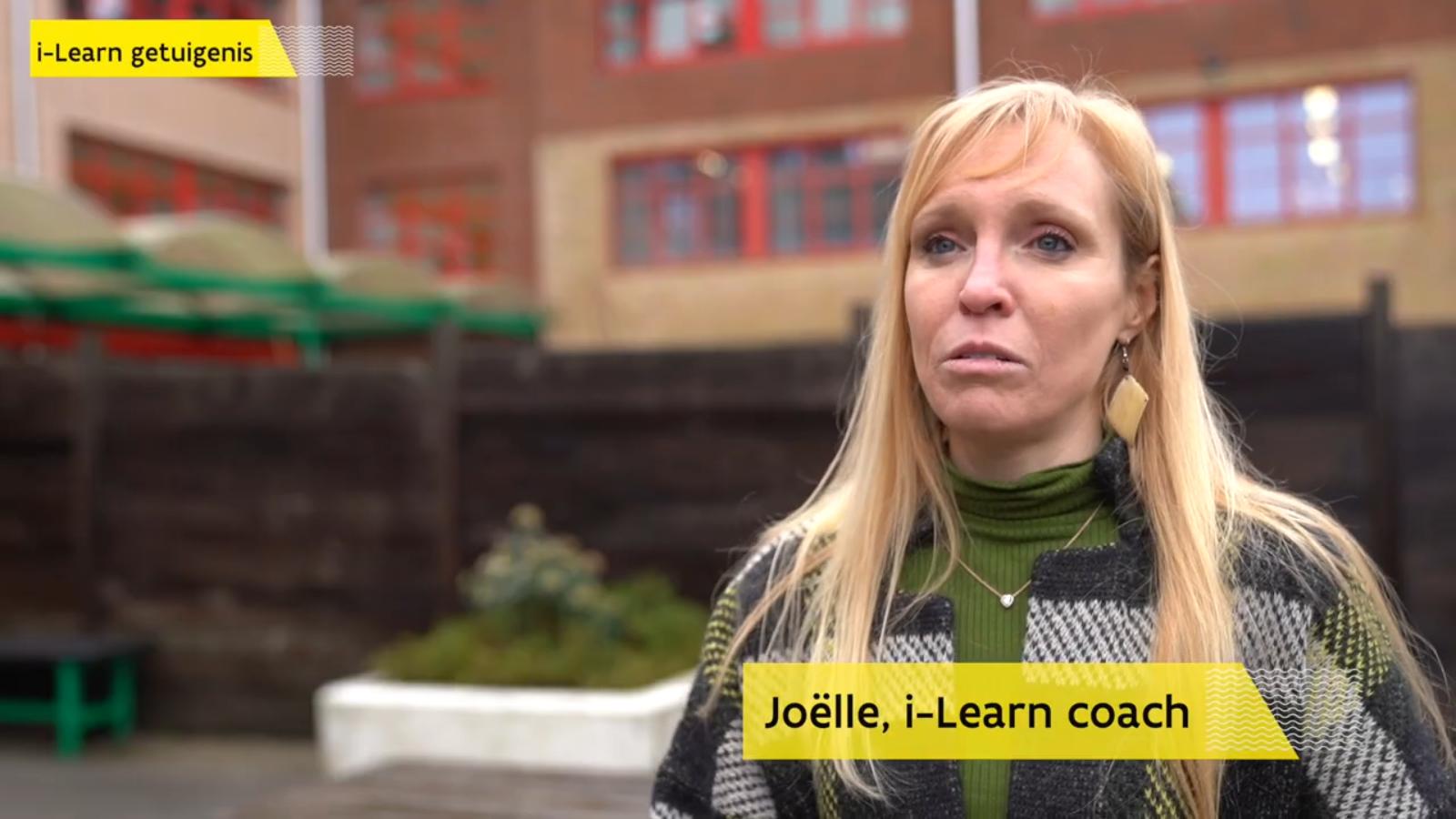 Getuigenis coach Joëlle